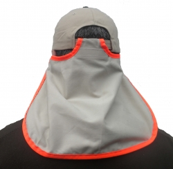 Neck Protector Ball Cap Model Sun Visor Neck Flap
