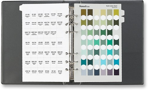 Rock Color Charts,Rocks,Soil Color Charts,Munsell Rock Color Charts