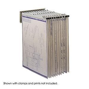 Pivot Wall Rack Map Filing Systems