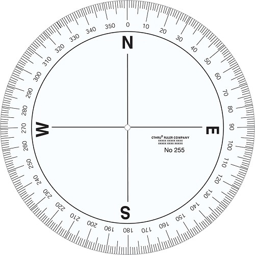 Crazy image in 360 degree protractor printable