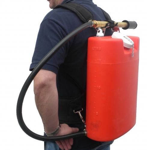 Deluxe Shoulder Waist Harness For Backpack Fire Pumps