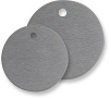 Aluminum Tags - Round - Blank