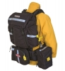 TrueNorth GO! PACK - Black - Standalone gear bag that attaches to modular wildland fire packs.