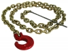 Choker Chain 6 mm x 2.1 m (1/4'' x 7') with C-Hook and steel rod Choker chain 6 mm x 2.1 m (1/4'' x 7') with C-Hook and steel rod