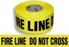 "Barricade Tape - """"Fire Line Do Not Cross""""(Clearance)"