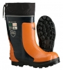 Viking Bushwhacker Rubber Chainsaw Boots: Lug Sole