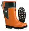 Viking Timberwolf Rubber Chainsaw Boot: Caulked Sole
